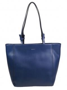 Esprit Damen Handtasche Tasche Henkeltasche Fay Shopper Blau