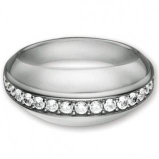 Esprit 4428285 Damen Ring Silber ana + Zirkonia weiß Größe 50 (16.0 )