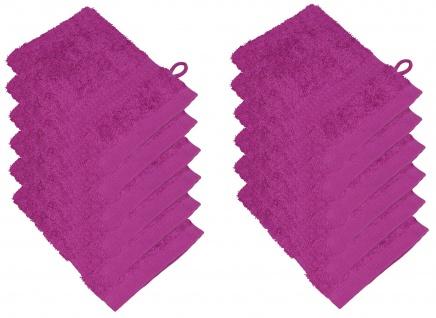 12er Pack Waschhandschuhe 15 x 21 cm