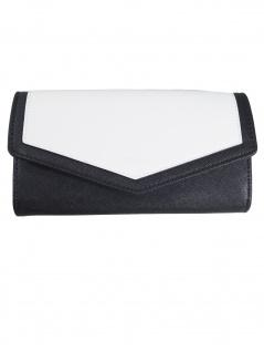 Esprit Damen Geldbörse Portemonnaies Lara flat clutch Weiß