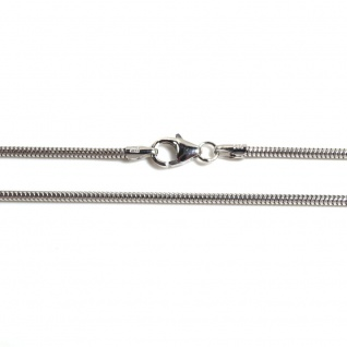 Basic Silber SC01.90.42R Kette Schlangen Unisex Halskette Silber 42 cm