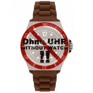 Ice-Watch Uhrenarmband LB-CT.MC.U.S.10 Silikon 20 mm Braun