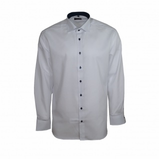 Eterna Herrenhemd Langarm Modern Fit Weiß Gr. XL/44 Hemd 8100/00/X13K