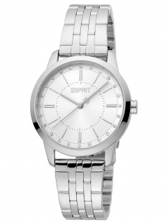 Esprit ES1L276M0045 Lille Silver Mb Uhr Damenuhr Edelstahl silber