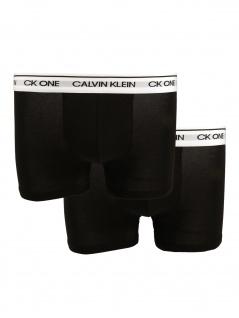 Calvin Klein Herren Boxershort 2er Pack Trunk M Schwarz NB2385A
