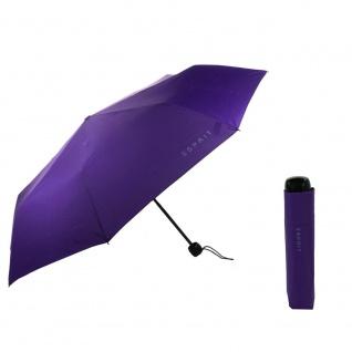 Esprit Mini Basic viola Regenschirm Taschenschirm