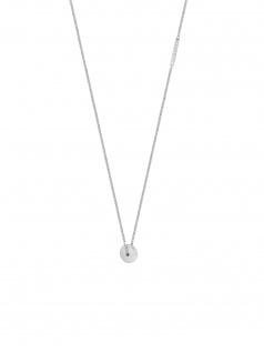 Esprit ESNL00511142 Damen Collier Glow Silber Weiß 45 cm