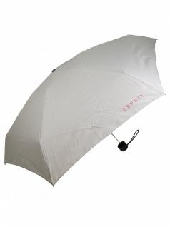 Esprit 51969 Petito sandbeige Regenschirm Taschenschirm