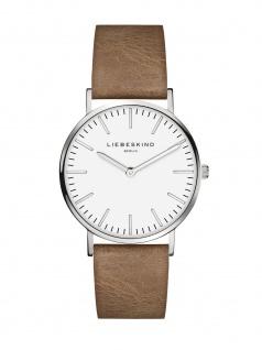 LIEBESKIND LT-0083-LQ Uhr Damenuhr Lederarmband Braun