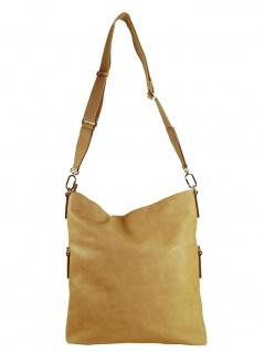Esprit Damen Handtasche Tasche Schultertasche Rhea flapover Beige