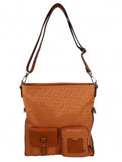 Esprit Handtasche Tasche Schultertasche Coy Flap Shoulderbag Orange