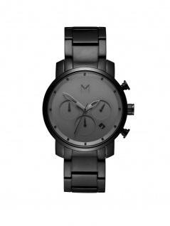 MVMT D-MC02-BB CHRONO 40 Chronograph Uhr Herrenuhr Datum Schwarz
