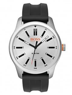 Boss Orange 1550043 DUBLIN Uhr Herrenuhr Kautschuk Datum Schwarz
