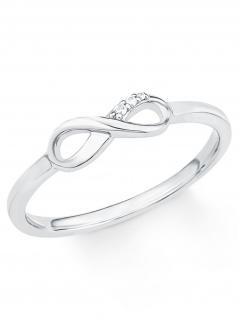 s.Oliver 2017253 Damen Ring Sterling-Silber 925 Silber Weiß 56 (17.8)