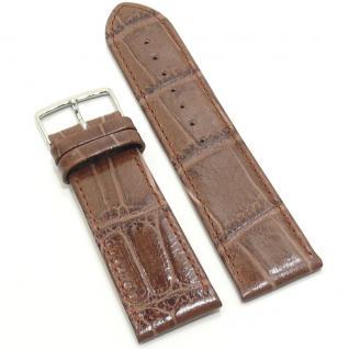 Condor Uhrenband 11320-24-20 Ersatzarmband 24 mm Louisiana braun
