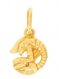 Gerry Eder 24.9020KR Anhänger Krebs 14 Karat (585) Gelbgold Gold