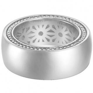 Esprit ESRG91911A Damen Ring purity glam Silber 925 Weiß 50 (15.9)