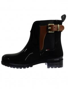 Tommy Hilfiger Damen Schuhe O1285XLEY Schwarz Stiefel - Vorschau 2