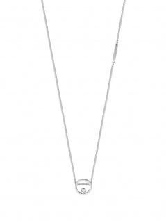 Esprit ESNL00741140 Damen Collier Mini Silber Weiß 43 cm