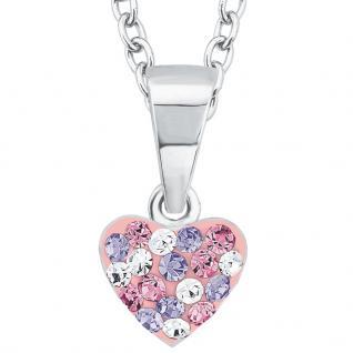 Prinzessin Lillifee 2013171 Mädchen Collier Herz Silber Rosa 38 cm