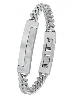 s.Oliver 2024254 Herren Armband Edelstahl Silber 21, 5 cm