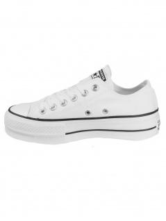 Converse Damen Schuhe CT All Star Lift Ox Weiß Leinen Sneakers 36, 5