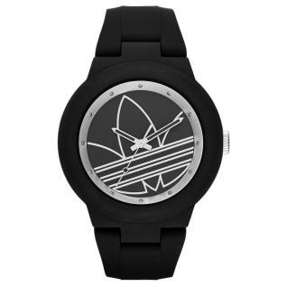 Adidas ADH3048 ABERDEEN Uhr Damenuhr Kautschuk schwarz