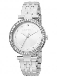 Esprit ES1L153M0055 Fine Silver MB Uhr Damenuhr Edelstahl silber