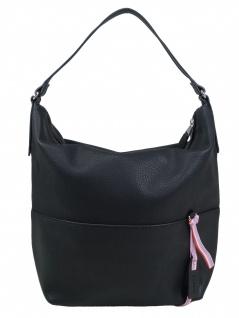 Esprit Damen Handtasche Tasche Henkeltasche Faith Hobo Schwarz