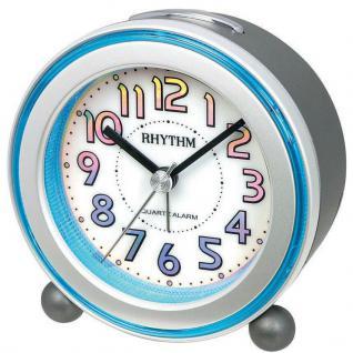 RHYTHM CRE833NR19 Wecker Uhr Alarm Weiss