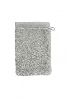 Möve Superwuschel Waschhandschuh 15x20 cm silver