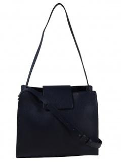 Esprit Damen Handtasche Tasche Schultertasche Ida hobo Blau