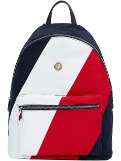 Tommy Hilfiger Rucksack Poppy Backpack Soft Nylon 20L Mehrfarbig