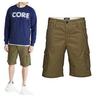Jack & Jones Herren Hose WEST Cargo Shorts NOOS Grün Gr. M