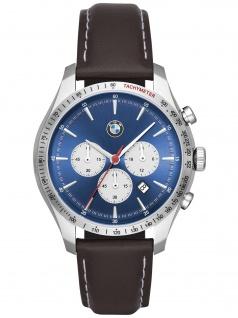 BMW BMW7000 BMW Chronograph Uhr Herrenuhr Leder Chrono Datum braun