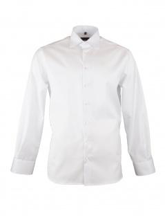 Eterna Herren Hemd Langarm Modern Fit XL/43 Weiß 8817/00/X18K