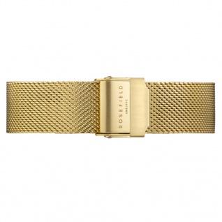 Rosefield Uhrenarmband LB-MGS-S121 Ersatzband MGS-S121 Edelstahl gold