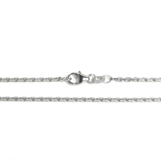 Basic Silber AN02.00.38R Kette Baby Anker Halskette Silber 38 cm
