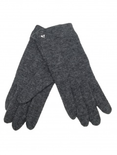 Esprit Damen Handschuhe Touchscreen Felted Gloves M Grau 099EA1R001