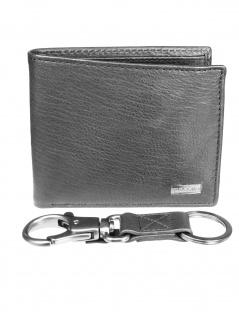 Fossil Herren Geldbörse Kane Gift Set Leder Schwarz ML4052-001