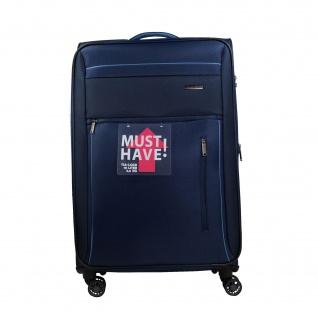 Travelite Capri 4 Rollen Blau 66 cm Trolley 67 L Koffer 89848-20 - Vorschau 1