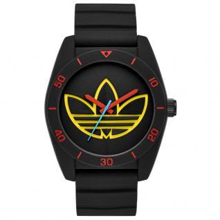 Adidas ADH3167 SANTIAGO Uhr Herrenuhr Kautschuk schwarz