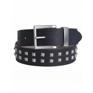 Pieces Damengürtel Nietengürtel VENEZUELA Jeans Belt Schwarz 85 cm