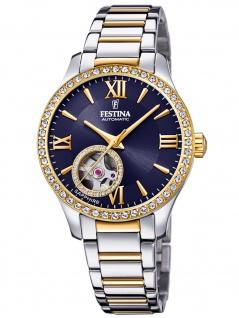 Festina F20486/2 Uhr Damenuhr Edelstahl bicolor