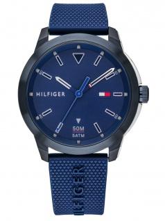 Tommy Hilfiger 1791621 SNEKR Uhr Herrenuhr Kunststoff Blau