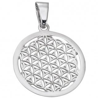 Basic Silber 21.EX643 Damen Anhänger Blume des Lebens Silber