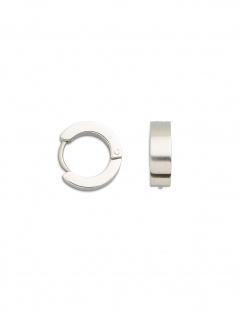 XENOX STEEL X1761 Damen Creolen Edelstahl Silber