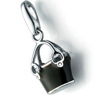 Giorgio Martello 1078-815839 Charms Damen Charm Silber Tasche oliv
