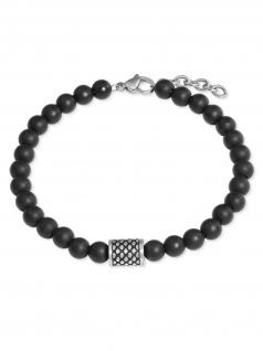 s.Oliver 2022628 Herren Armband Edelstahl Silber 22 cm