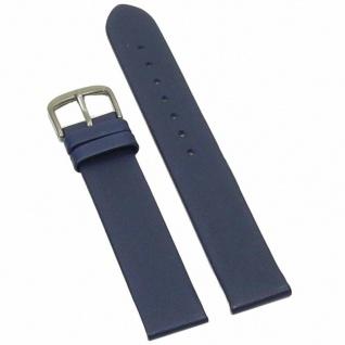 Condor Uhrenband 14400-16-52 Ersatzarmband 16 mm Kalbnappa blau